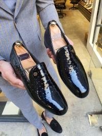 5032 Rugan Ayakkabı Siyah