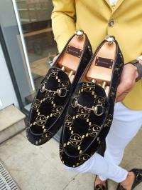 Ayakkabı Kadife Siyah
