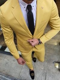 40103T Takım Elbise Sarı