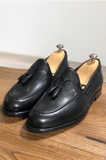 6120 Ayakkabı Klasik Babet Siyah