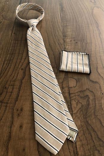 Kravat Mendil Bej - Aksesuar