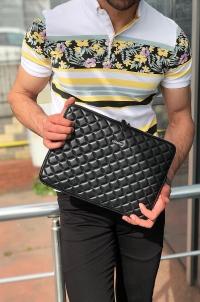 1852 el çantası siyah