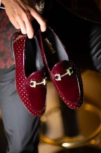 5363 Ayakkabı Sardinelli Gold Bob Bordo