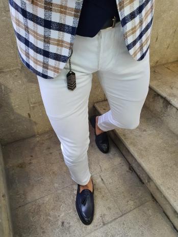 6615 Kot Pantolon Beyaz