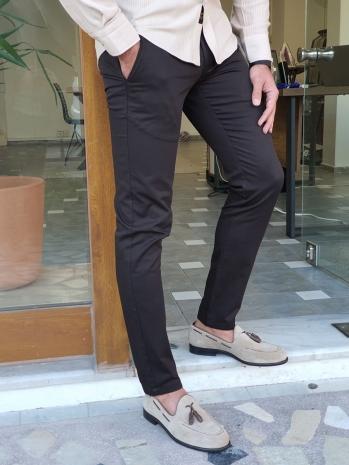 2014 Dar Kesim Yan Cep Pamuk Pantolon Siyah