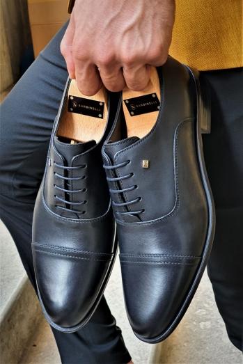 2053 Neolit Taban Klasik Ayakkabı Siyah